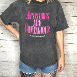 Hanes Tops - 90's Vintage Single Stitch Graphic T-Shirt Sz L
